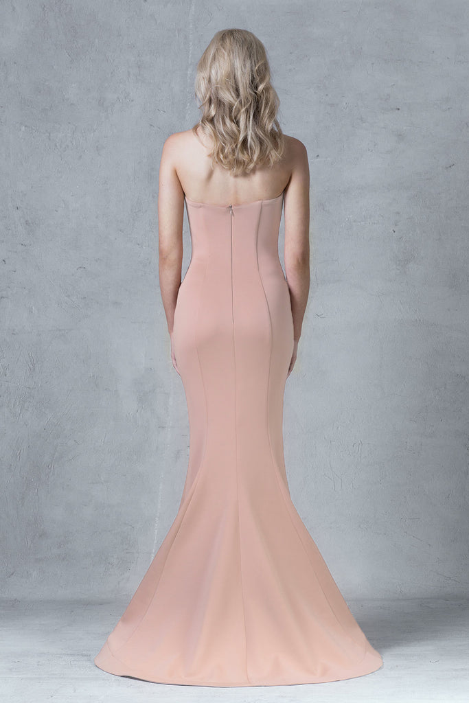 Aria  Dress - Peach