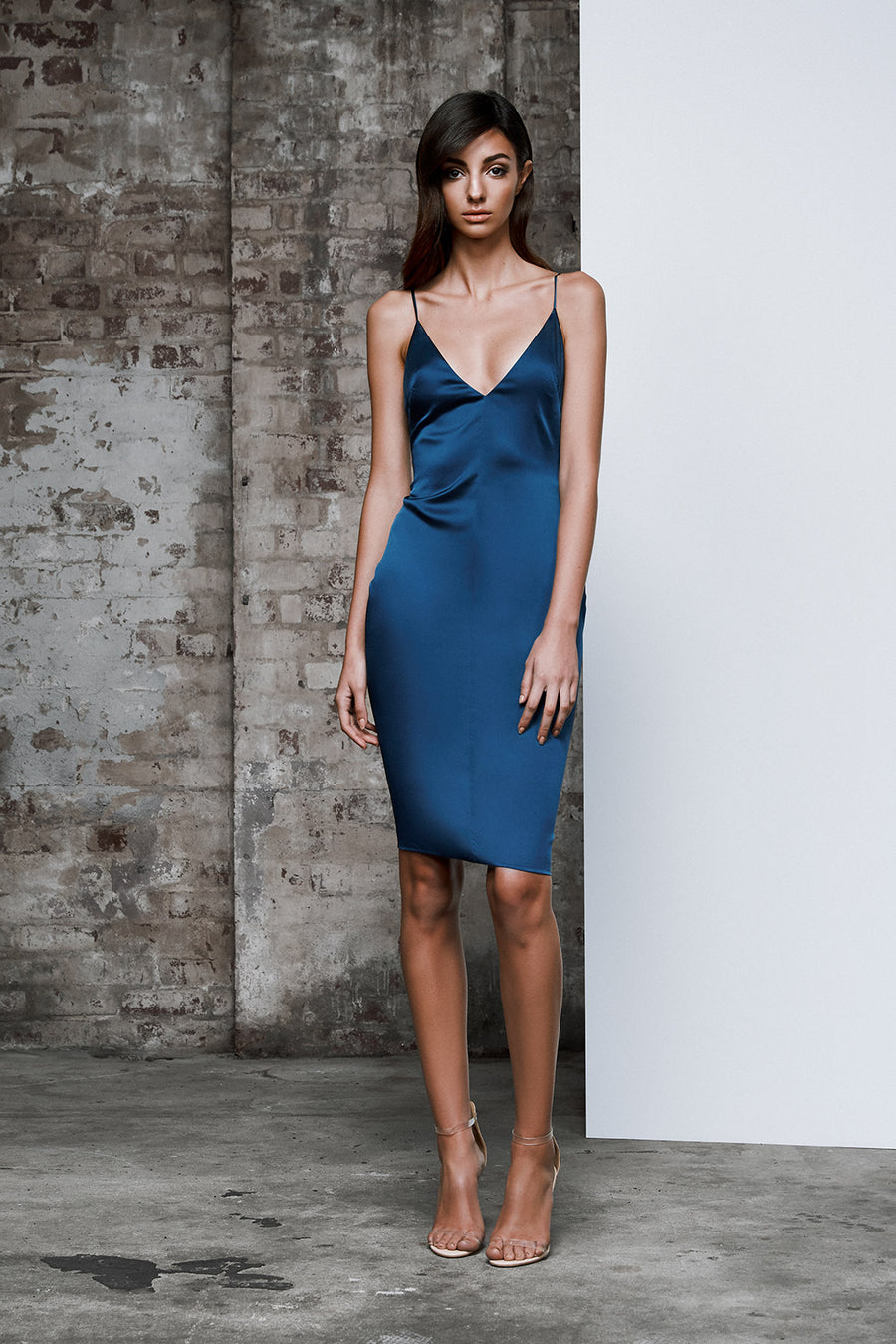 Deja Dress - Cerulean Blue