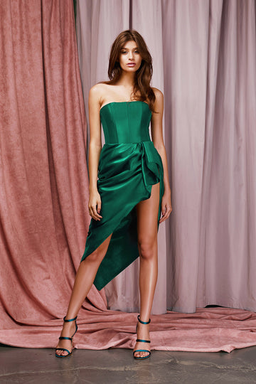 Shannen Dress - Emerald Green