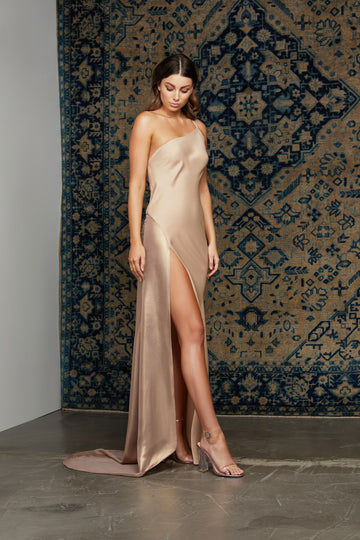 Farah Dress - Champagne