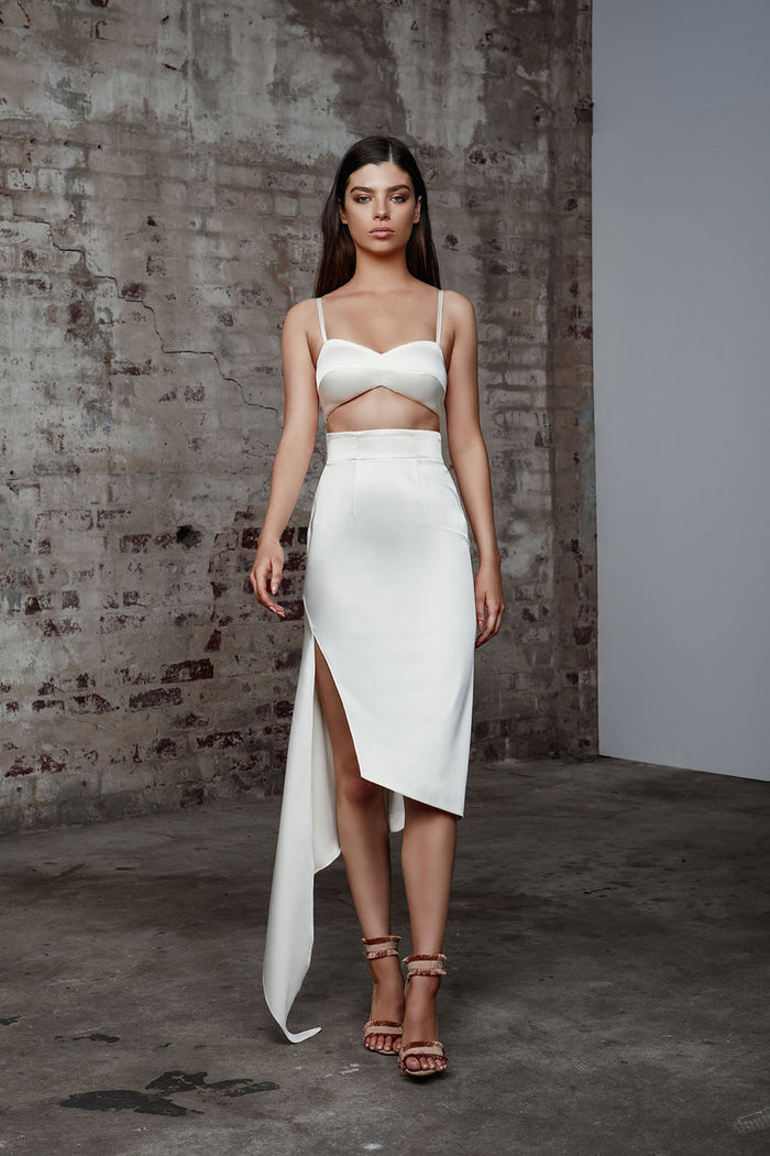 Piper Dress - Ivory