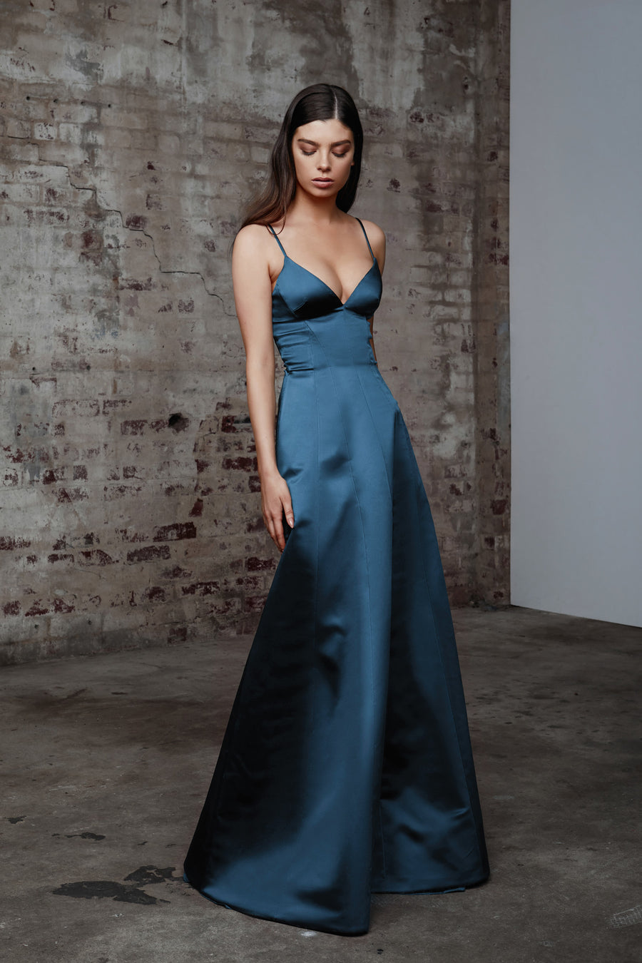 Penelope Dress - Blue