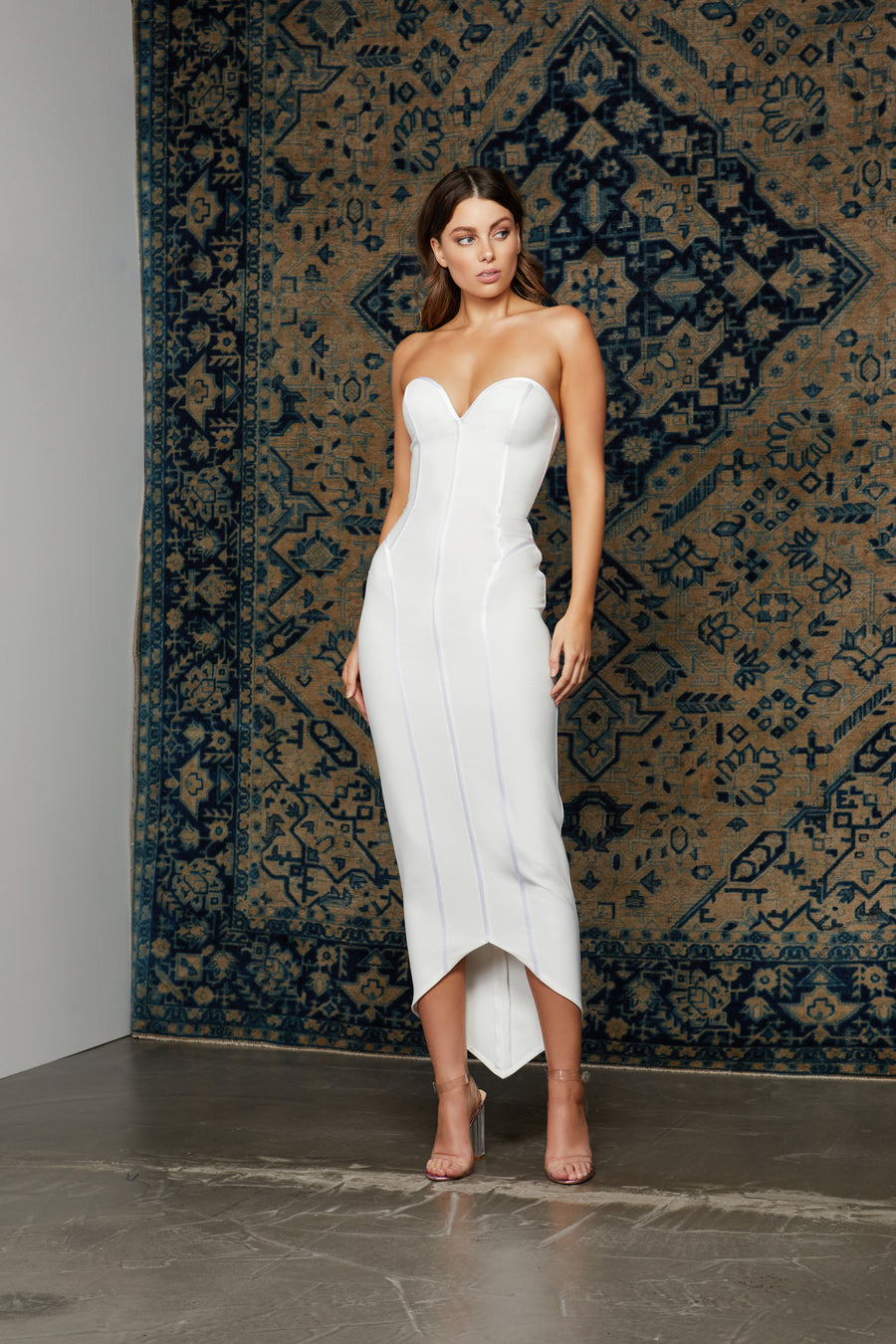 Nuri Dress - White