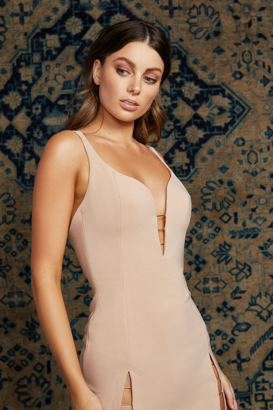 Zia Dress - Blush