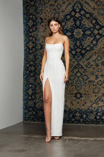 Leyla Dress - White (PRE-ORDER)