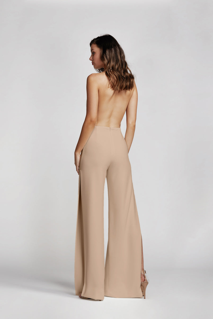 Reyna Jumpsuit - Pale Pink