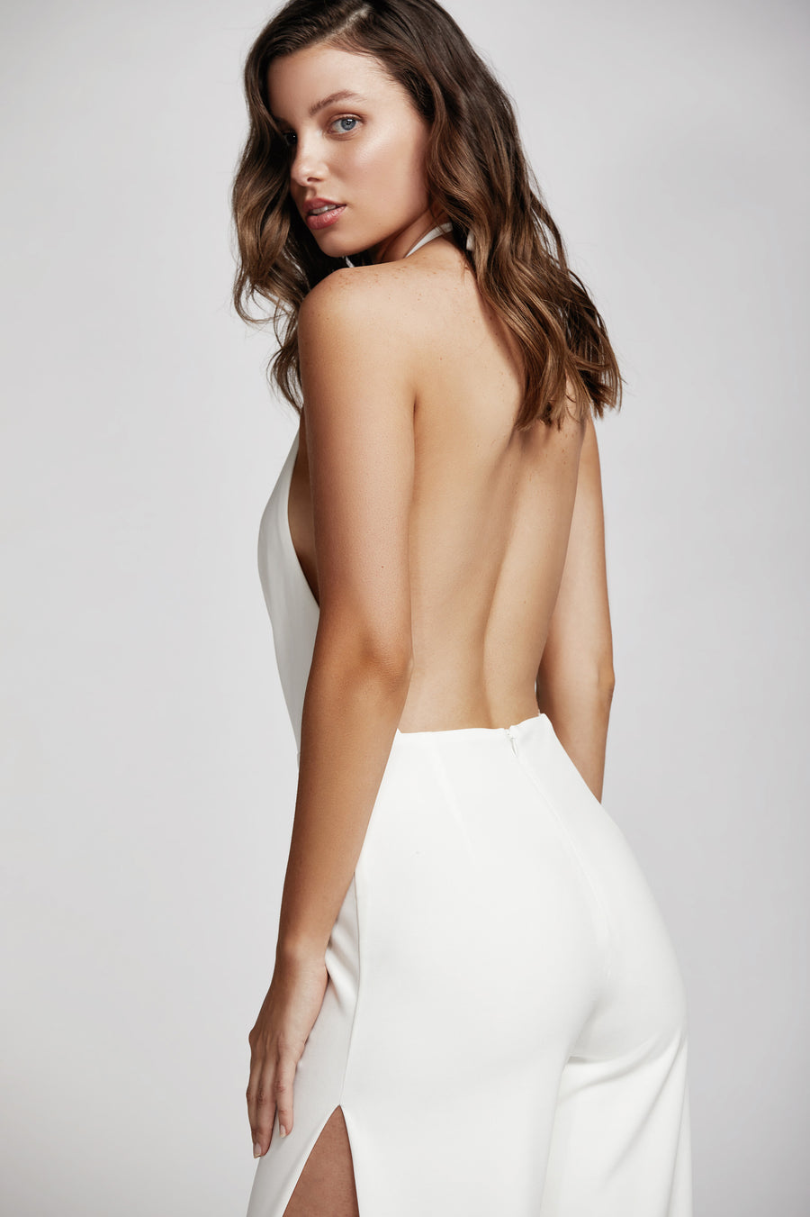 Reyna Jumpsuit - White