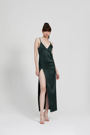 Akasa Dress - Dark Green