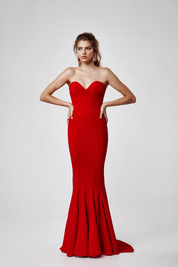 Sahar Dress - Red