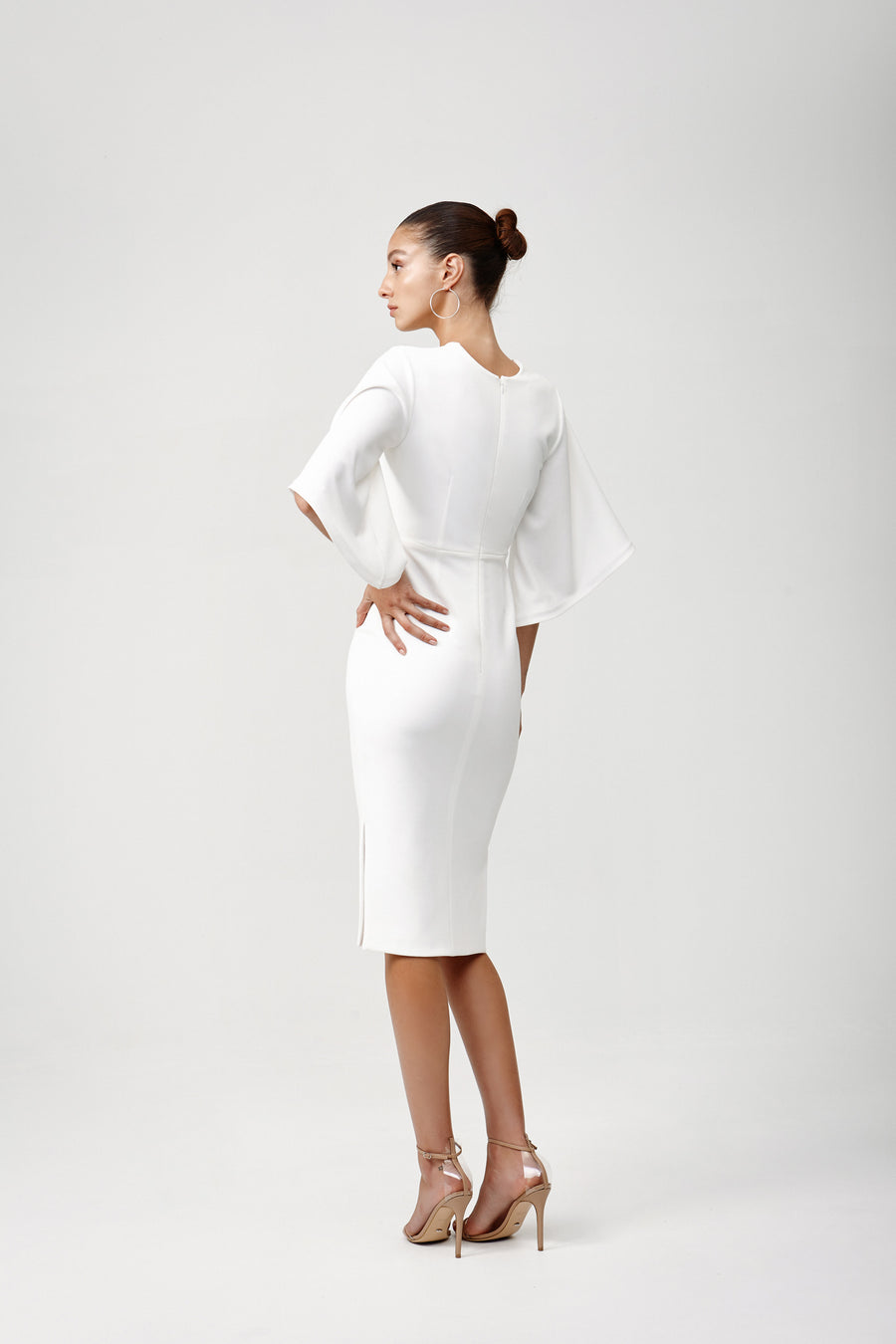 Rema Dress - White