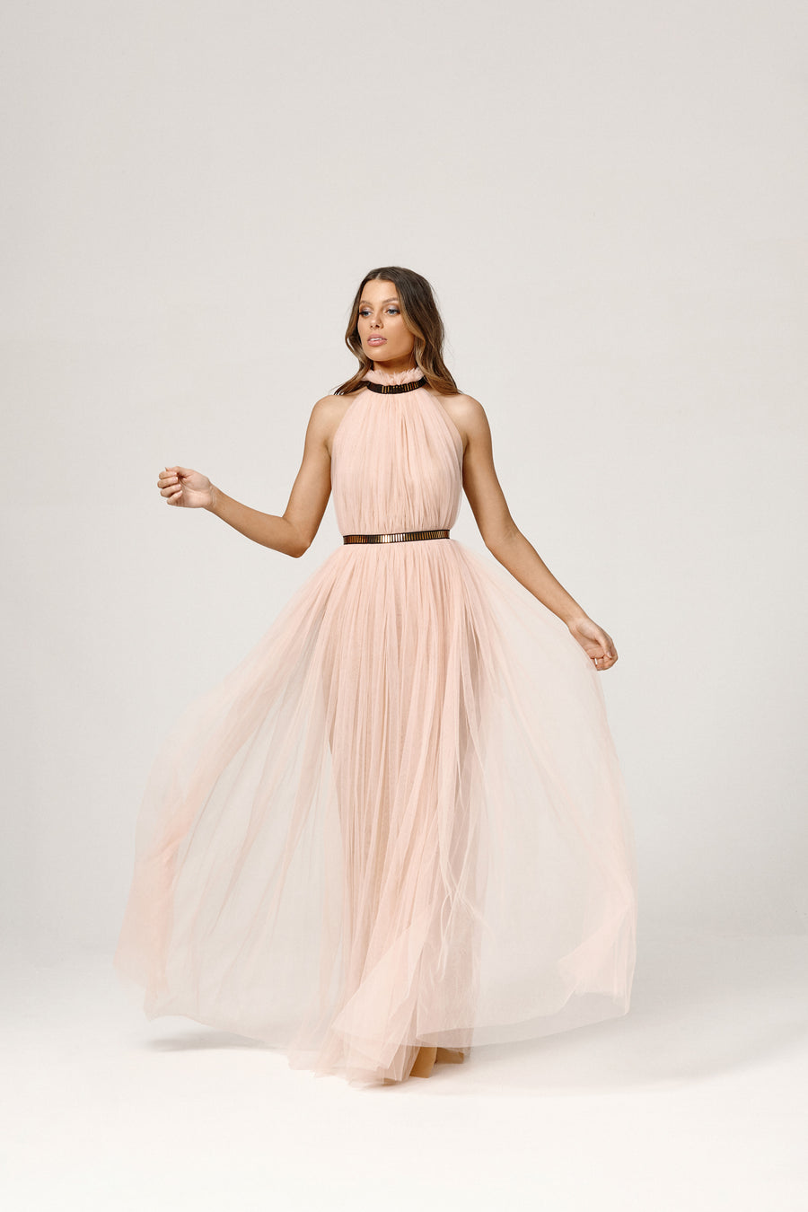 Kenzie Dress - Pale Pink