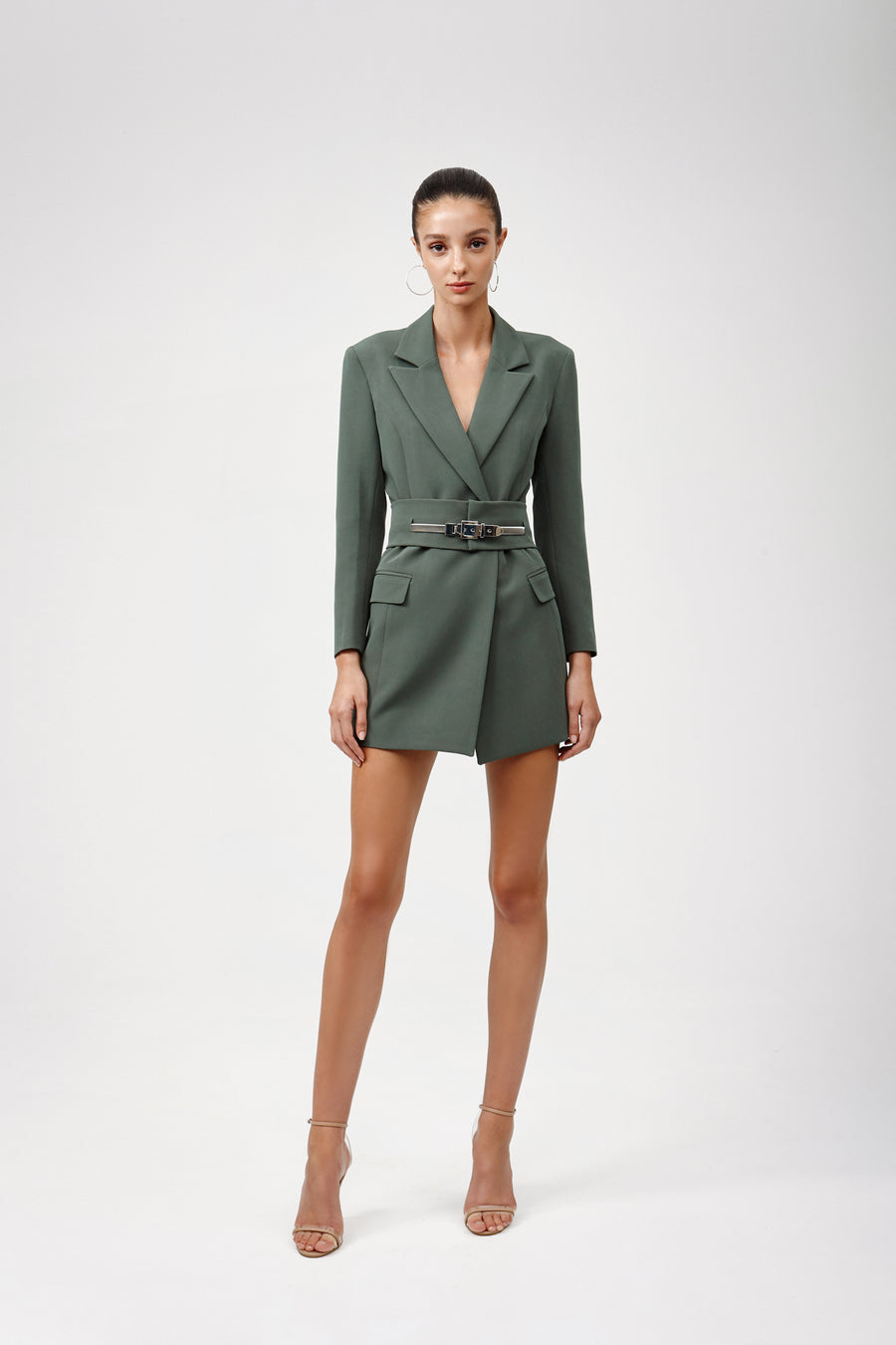 Sacha Jacket Dress - Green