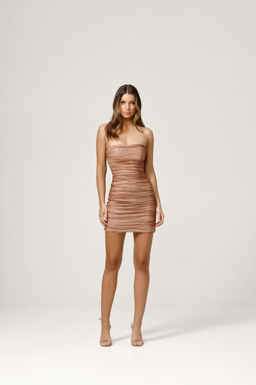 Kit Dress - Rose Gold
