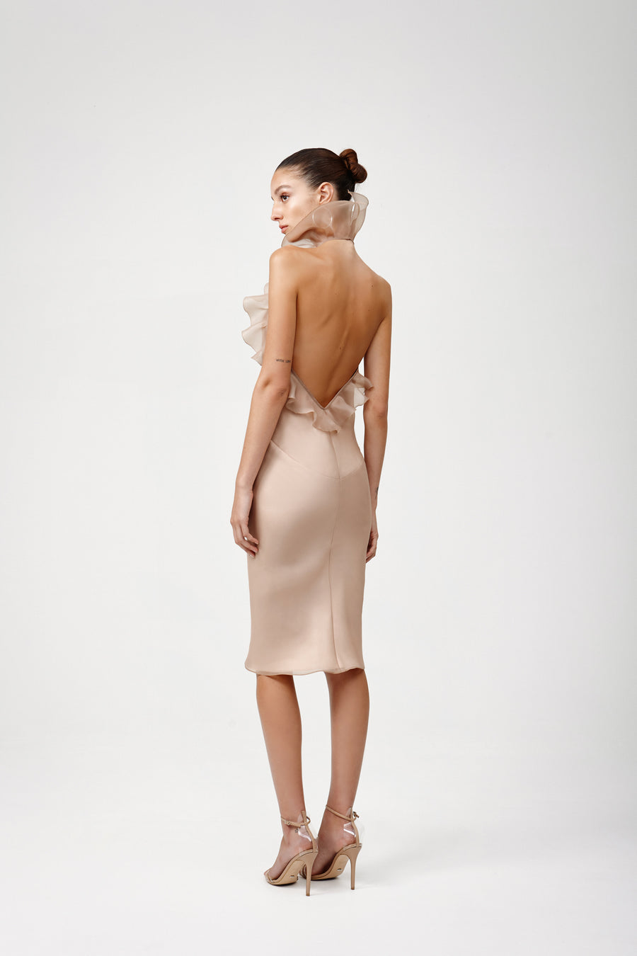 Chantal Dress - Beige