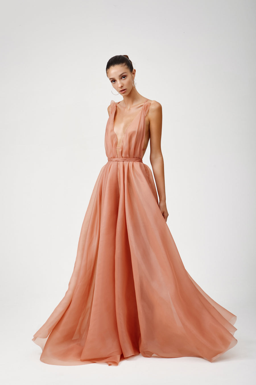 Rochelle Dress - Coral