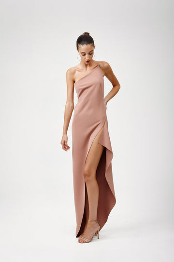 Lina Dress - Dusty Pink