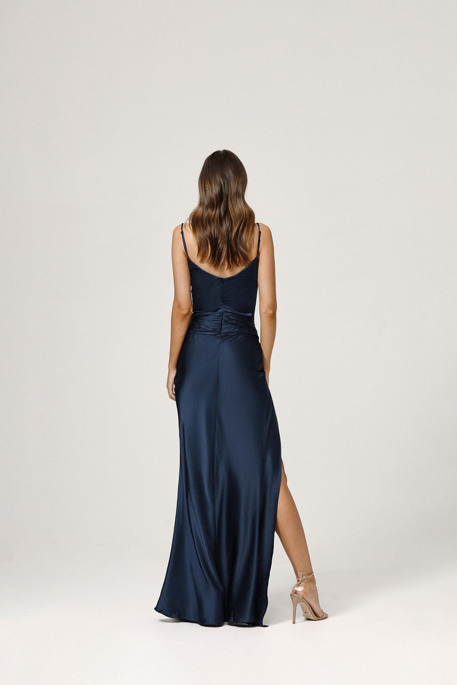 Ashton Dress  - Navy