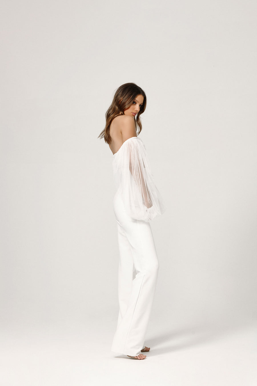 Montana Jumpsuit - White