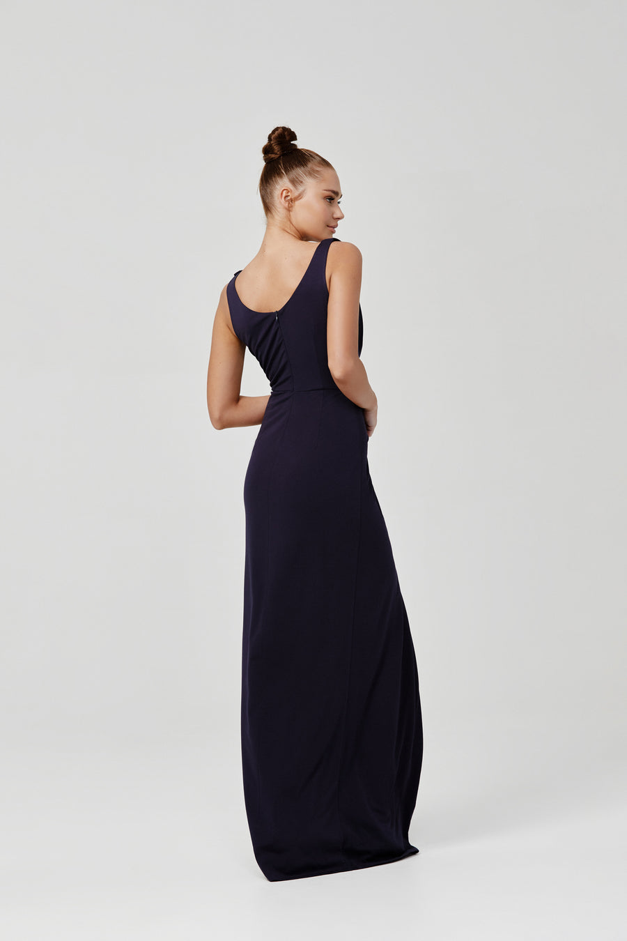 Naida Dress - Navy