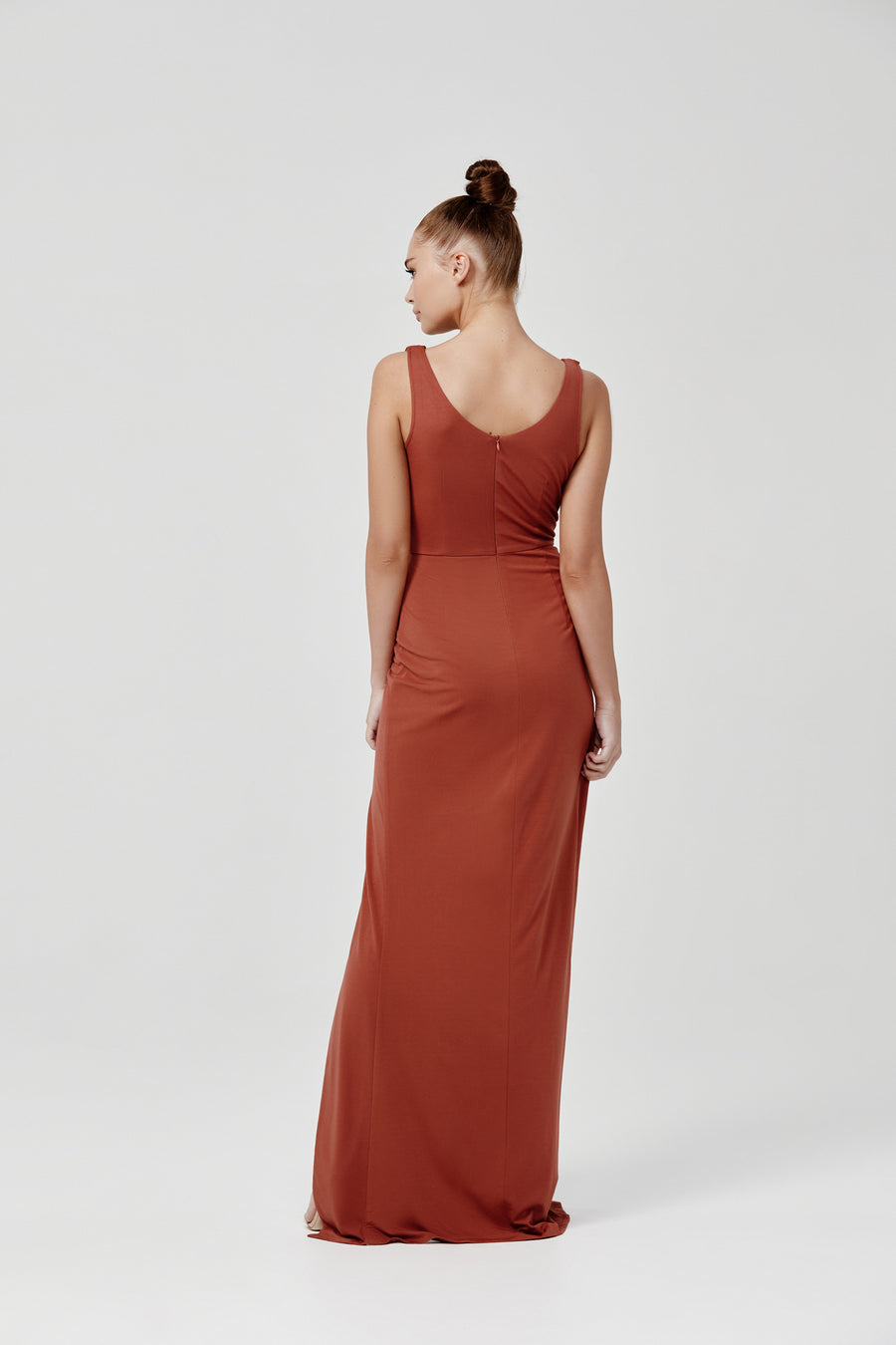 Naida Dress - Terracotta
