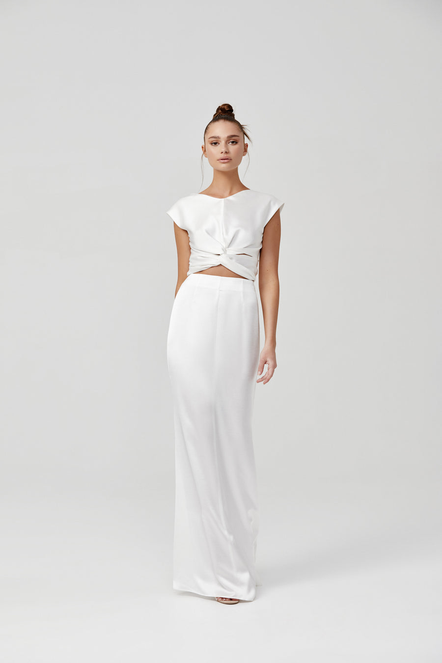 Kiera Dress - White