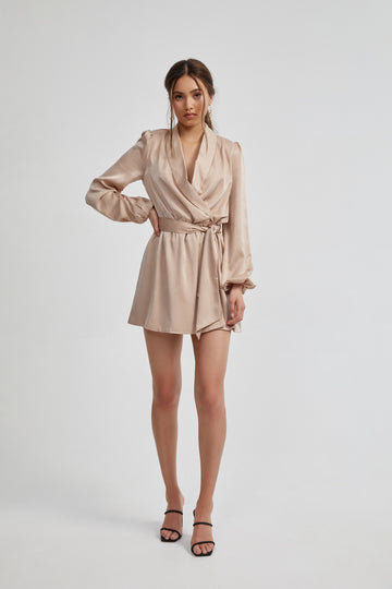 Zuri Dress - Beige