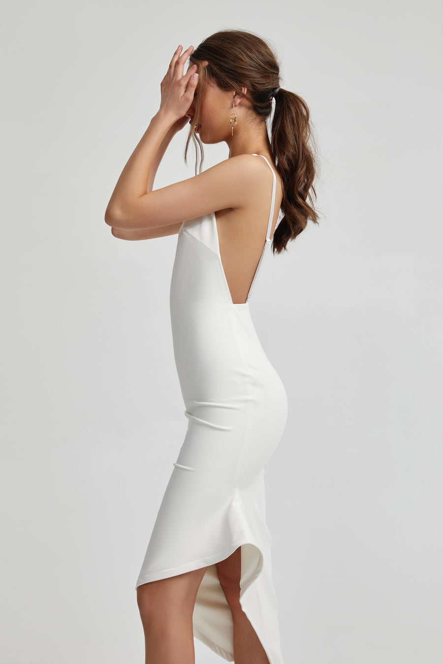 Zina Dress - White