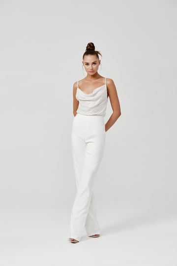 Madeline Jumpsuit - White