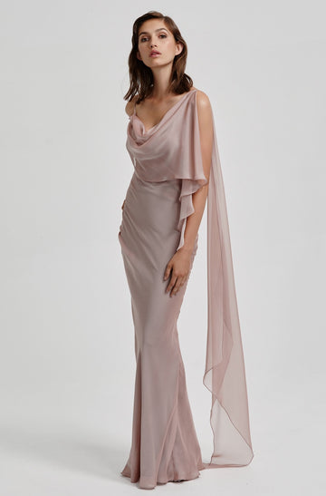 Alicia Dress - Mauve