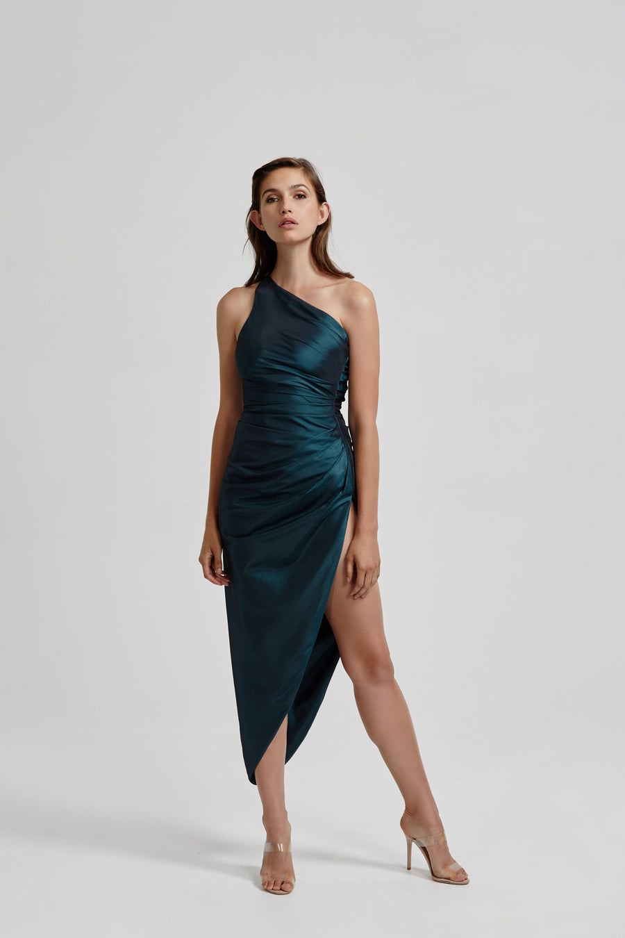 Jada Dress - Shot Green