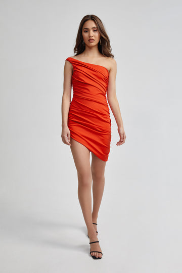 Holly Dress - Orange