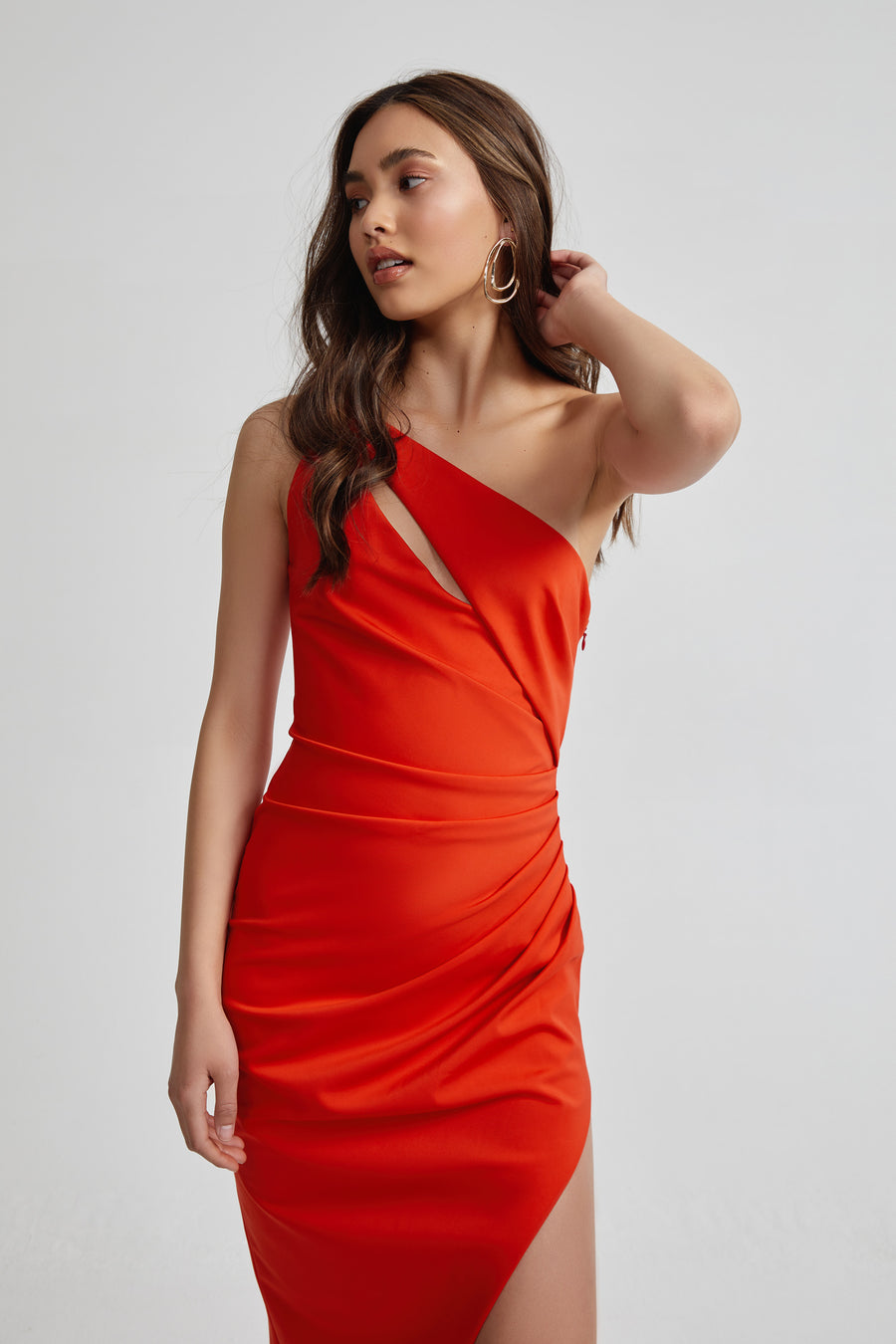 Lila Dress - Orange