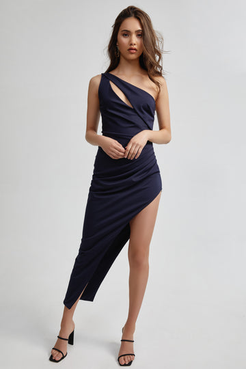 Lila Dress - Navy