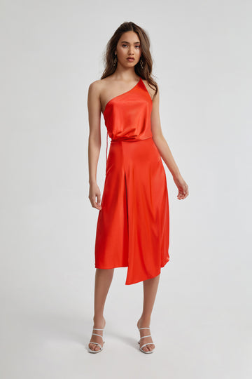 Frankie Dress - Orange
