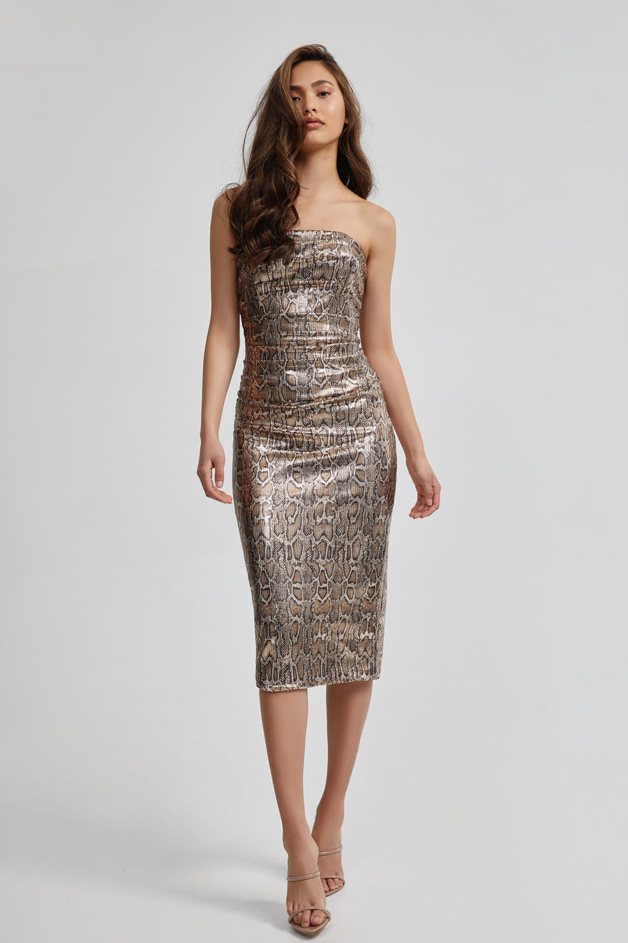 Juniper Dress - Metallic
