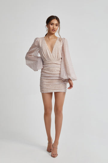 Millie Dress - Blush