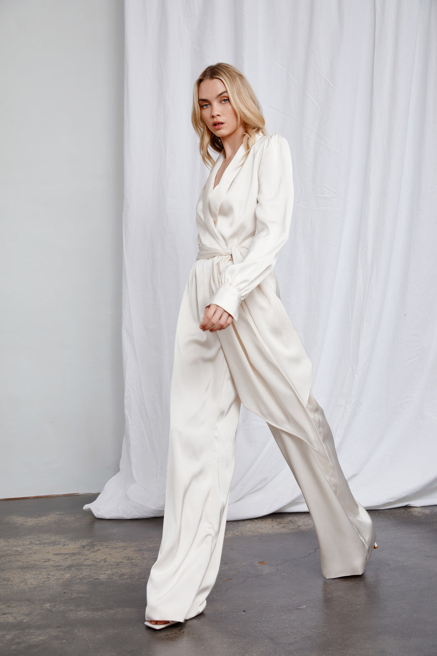 Ayana Jumpsuit - Oyster