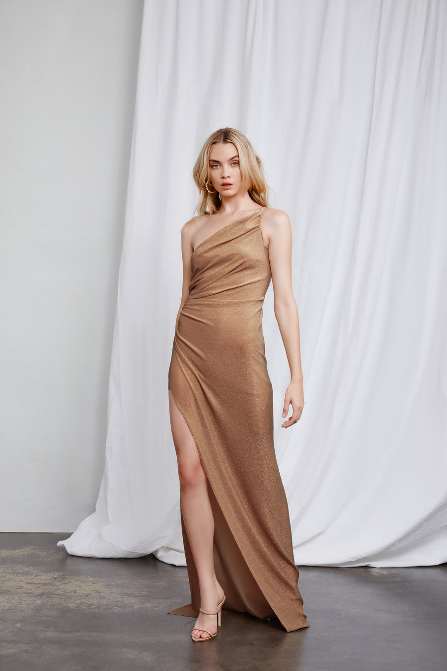 Bahari Dress - Champagne