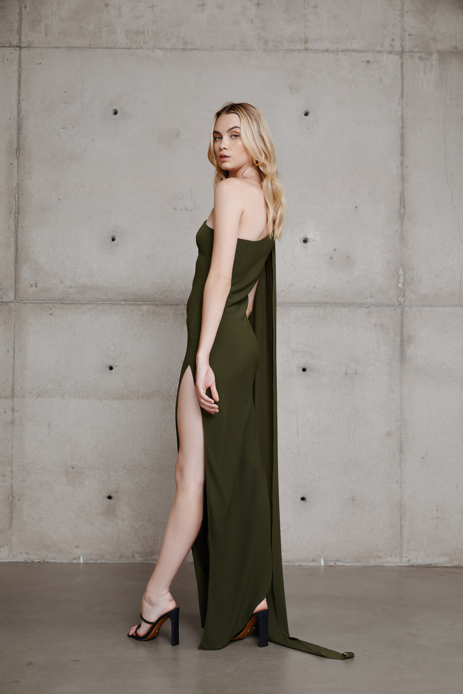 Riley Dress - Khaki