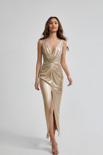 Vivienne Dress - Champagne