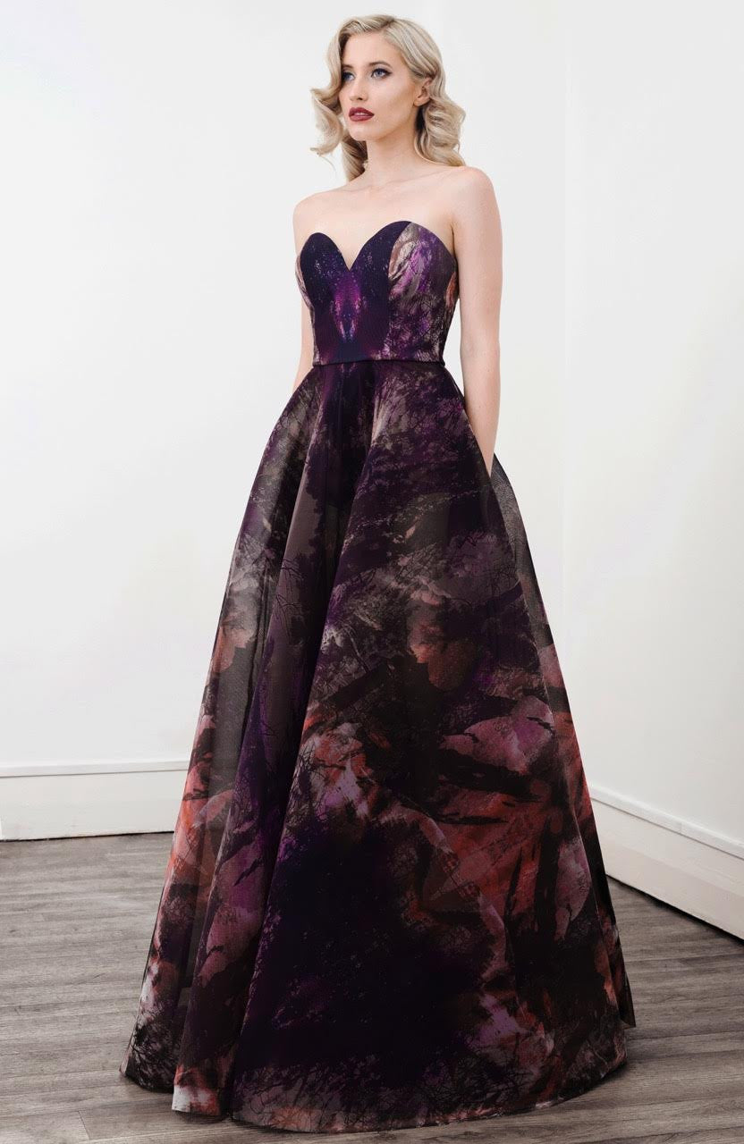 Dahlia  Strapless Full Gown