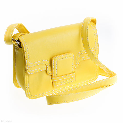 Belle Cross Body Bag (Yellow)