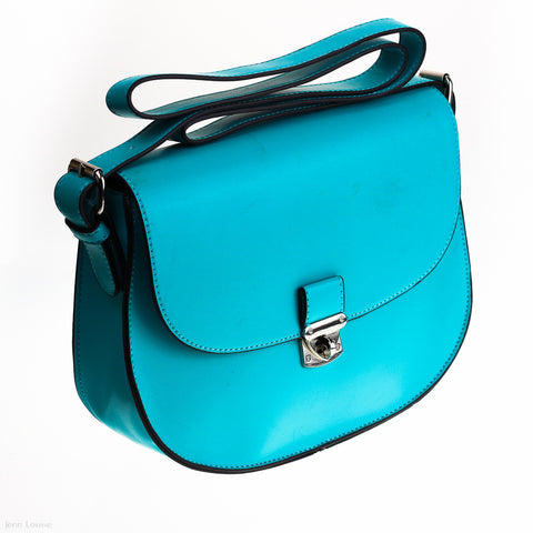 Hillary Cross Body Bag (Turquoise)