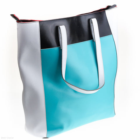 Hillary Tote (Turquoise)