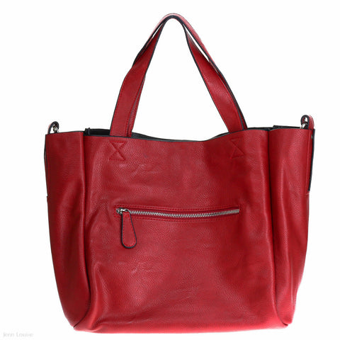 Chelsea Tote (Red)