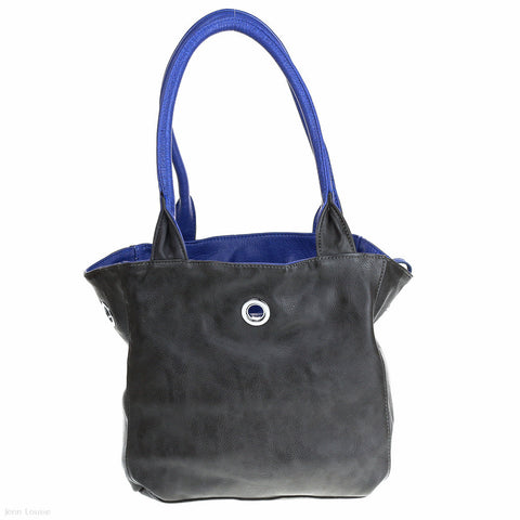 Lola Handbag (Blue/Black)