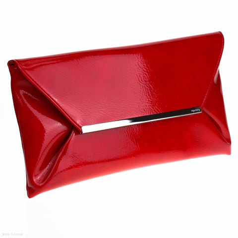 Envelope Clutch (Red)