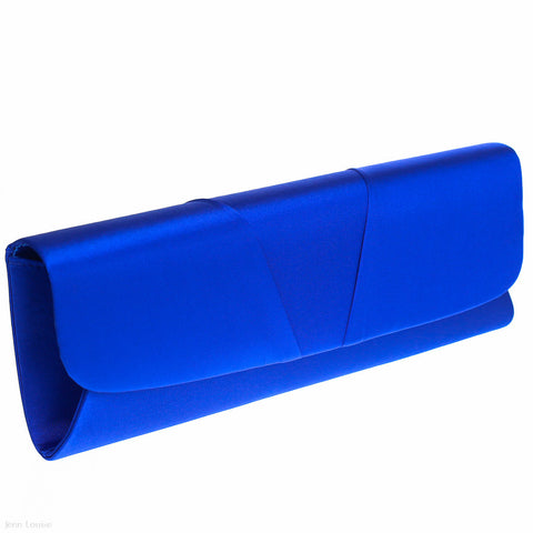 Envelope Clutch (Blue)
