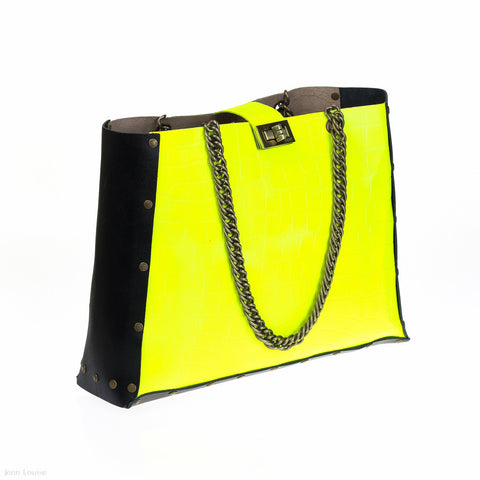 Chain Bag (Yellow)