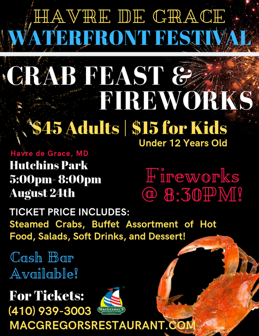 Waterfront Festival Crab Feast - Adult